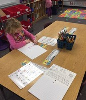 RA Kindergarten Word Work