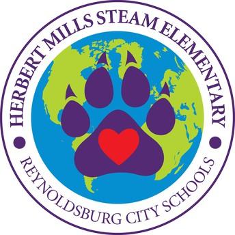 Herbert Mills STEAM Elementary Logo