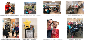 From the Northstar PBIS Team: Panther Store