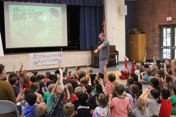 Decatur Book Festival Authors Visit All CSD Elementary Schools