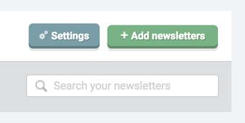 3. Add Newsletters