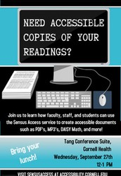 How to use the Sensus Access service to create accessible documents