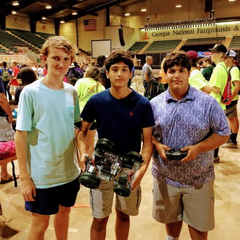 This is an image of students attending Tech Day at the Georgia National Fair as well as a link to an album of images of the event.