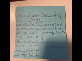 Remaining Drawing Days!