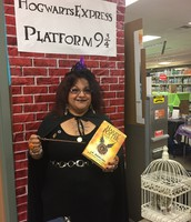 Mrs. Hernandez on Her Way to Hogwarts
