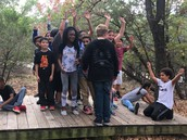 5th Graders attend Camp El Tesoro