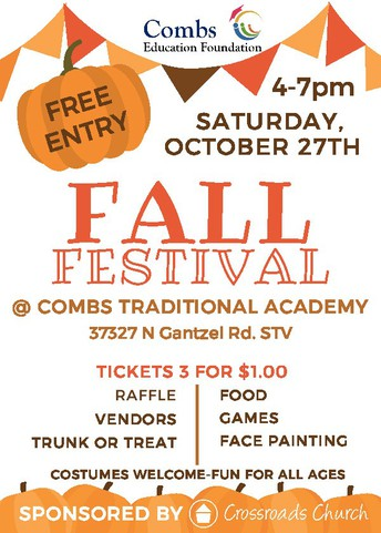 Combs Education Foundation Fall Festival
