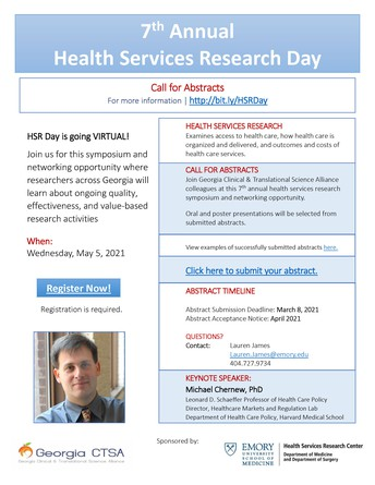 HSR Day Call for Abstracts