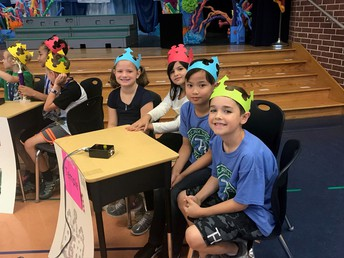 Mrs. Temple's Battle of the Books Team