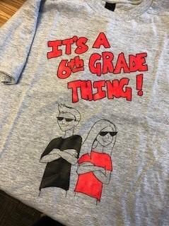 6th Grade Shirts