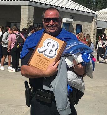 Happy Retirement, Officer MacPhee!