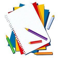 Colección de artículos personales de los estudiantes