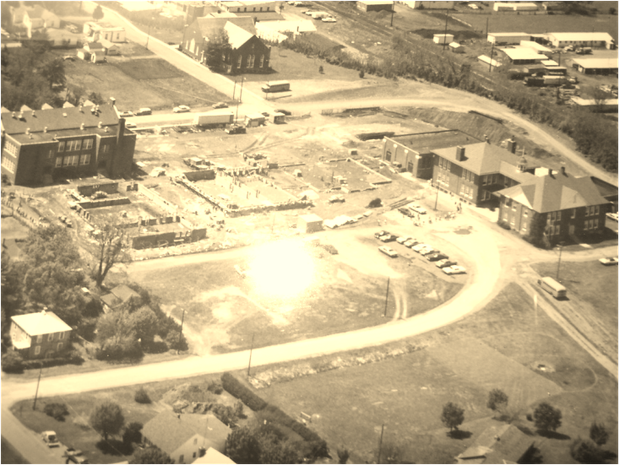 Aerial View of Elkton Elementary