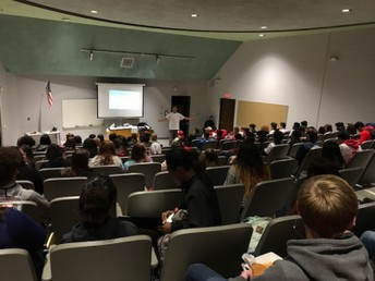 """Agua Fria Students Embark on Random Acts of Kindness in the First """"No Student Eats Alone"""" Meeting"""