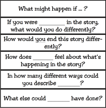 Questions that Encourage Divergent Thinking