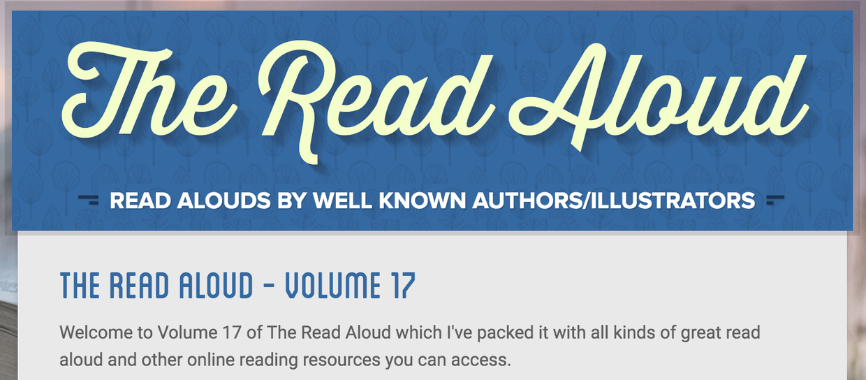 The Read Aloud - Volume 17