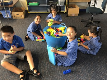The Butler whanau (our new entrants) learning through play