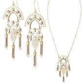 Mirage Pendant & Earrings