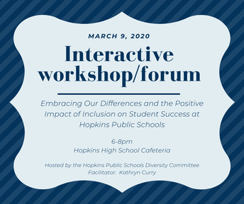 Interactive Workshop/Forum