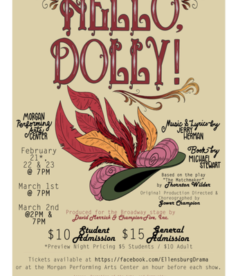"""Outstanding production of """"Hello Dolly"""" by EHS students"""