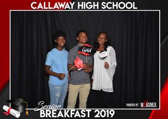 Callaway High School Hosts First Ever Senior Breakfast