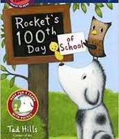 Mrs. Thomas read Rocket's 100th Day of School & How Rocket Learned to Read!