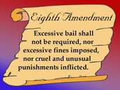 Eighth Amendment Text From Constitution