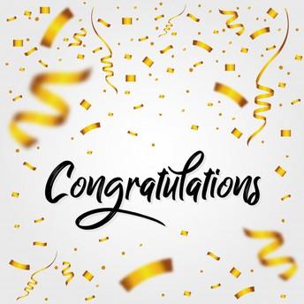 Congratulations, Ms. Schaeffer!