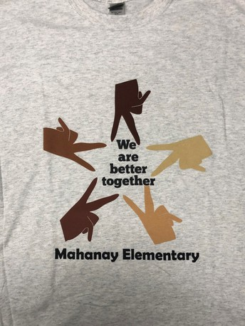 Our new Mahanay Spirit shirts are here!!!