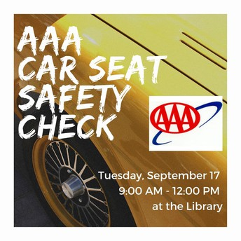AAA Car Seat Safety Check