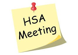 HSA Meeting This Wednesday at 7PM