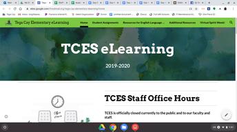TCES Google Site