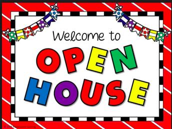 Thursday, September 13th Open House!