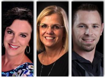 Drs. Alicia Cotabish, Debbie Dailey, and Jason Trumble