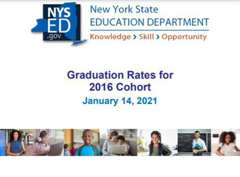 State Education Department Releases 2016 Cohort High School Graduation Rates