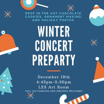 Winter Concert PreParty