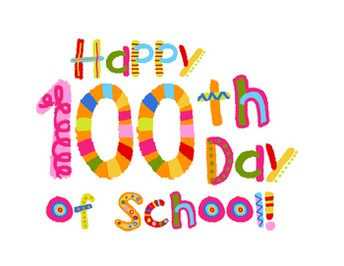 Happy 100th day, Tues. 2/5
