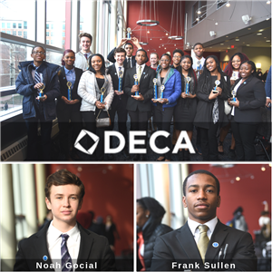 DECA Students Qualify for State Leadership Conference and Competition