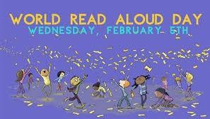 World Read Aloud Day Wednesday, Feb. 5th