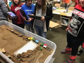 Many types of erosion