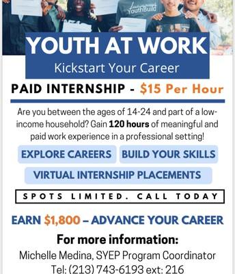 Paid Internships!