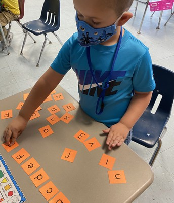I can put my letters in ABC order!