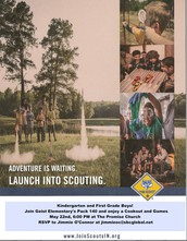 Launch into Scouting - GES Kindergarten and 1st Grade Boys