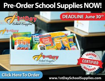2019/20 School Supply Kits