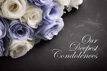 Condolences