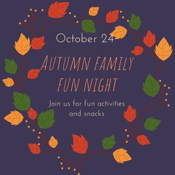 Autumn Family Fun Night