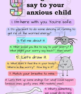 What to Say to Your Kid Experiencing Anxiety