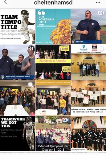 District Instagram Makes Public Debut