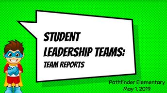 Student Leadership Teams Recap (May 1st)