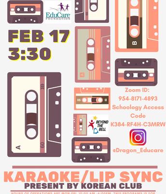 Karaoke/Lip Sync
